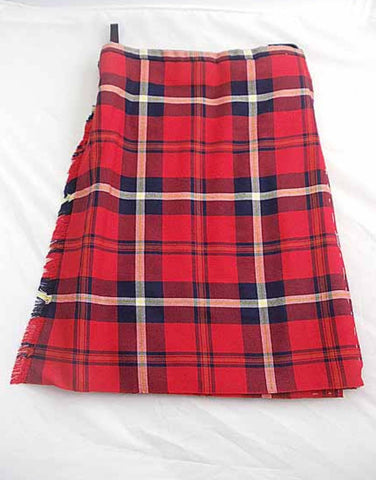 Pure Wool Kilt - Aberdeen Football Club  Tartan - Made in Scotland