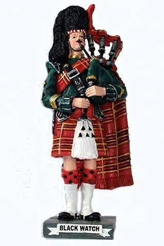 Black Watch Piper Figurine