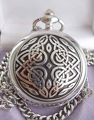 Celtic Knot Pocketwatch