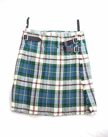 Pure Wool Kilt - Special Dress MacLeod Tartan - Made in Scotland (Ex-Hire)