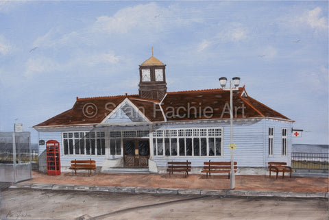 Aberdeen Beach Shelter 1970s by Stan Fachie