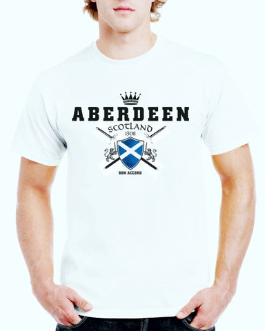 Aberdeen Cross Swords T-Shirt