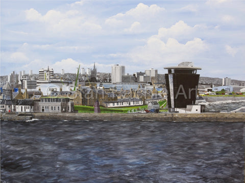 Aberdeen Harbour by Stan Fachie