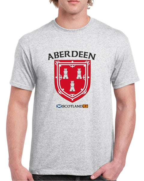 Aberdeen Scotland 3 Towers T-Shirt