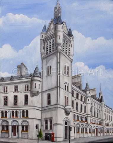 Aberdeen Town House by Stan Fachie