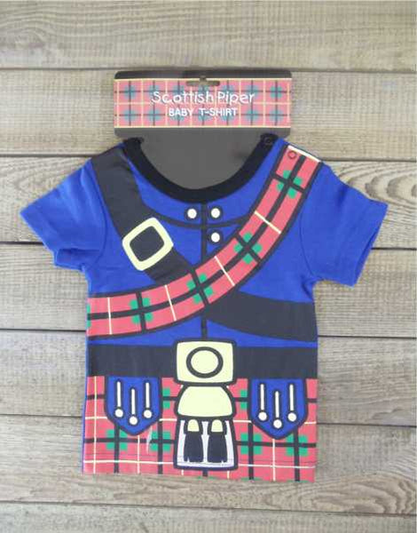 Scottish Piper Baby T-Shirt