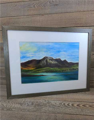 """Ben Loyal"" Original Framed Water Based Oil Painting"