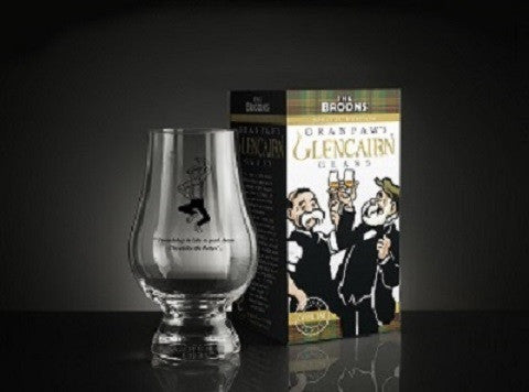 The Broons Special Edition Granpaw's Glencarin Glass