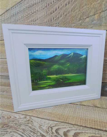 """By Lochnagar"" Original Framed Water Based Oil Painting"