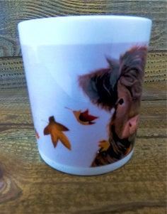 Fine Bone China Mug - Autumn