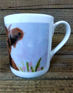 Fine Bone China Mug - Blossom