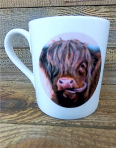 Fine Bone China Mug - Molly Moo