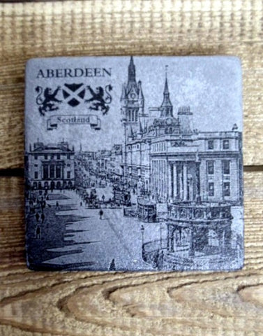 Photo Coaster - Castlegate Aberdeen (C8)