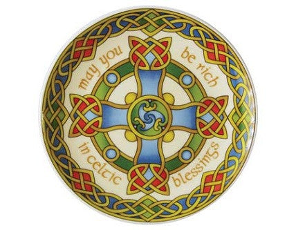 Celtic Cross Plate