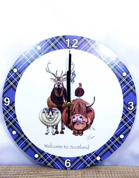 Welcome to Scotland Clock
