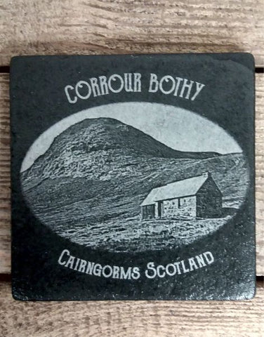 Photo Coaster - Corrour Bothy (C18)