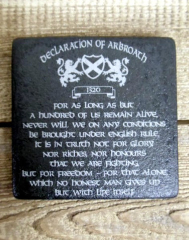 Photo Coaster - Declaration of Arbroath (C12)