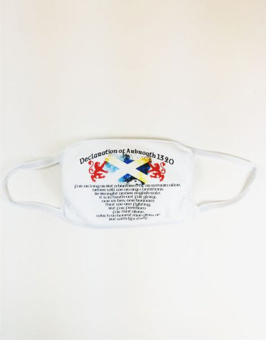 Declaration of Arbroath Face Mask