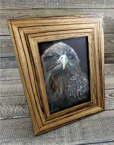 """Eaglet"" Framed Print by Margaret Burns Miles"