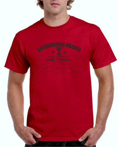 """European Cup Winners Cup""  RED Adult T-Shirt"