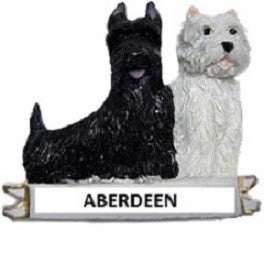 Aberdeen Westies Fridge Magnet