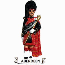 Aberdeen Drum Major Fridge Magnet