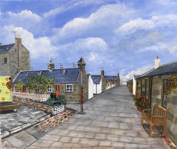Fittie Aberdeen South Square by Stan Fachie