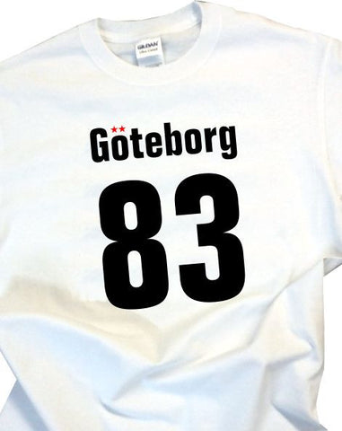 Goteborg 83 - Adult T-Shirt