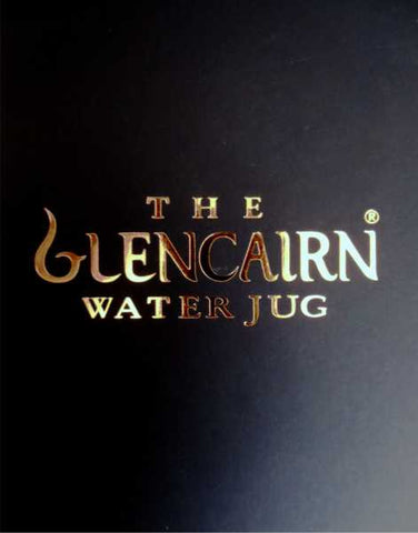 Glencairn Crystal Whisky Water Jug