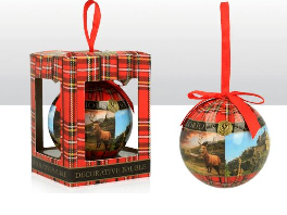 Glorious Scotland Bauble