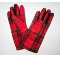 Tartan Ladies Gloves