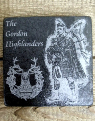 Photo Coaster - Gordon Highlanders Piper (C15)
