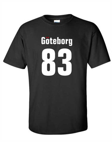 Goteborg 83 - Black Adult T-Shirt