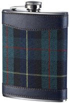 Green Tartan Hip Flask