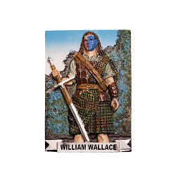 William Wallace Fridge Magnet