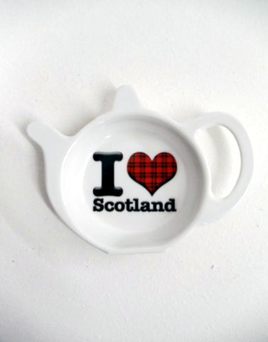 I Love Scotland Teabag Holder