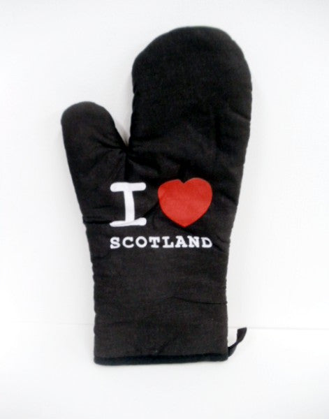 I Love Scotland Oven Glove