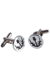 Simple Thistle Cufflinks