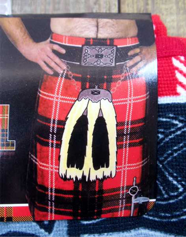 Scottish Kilt Beach Towels