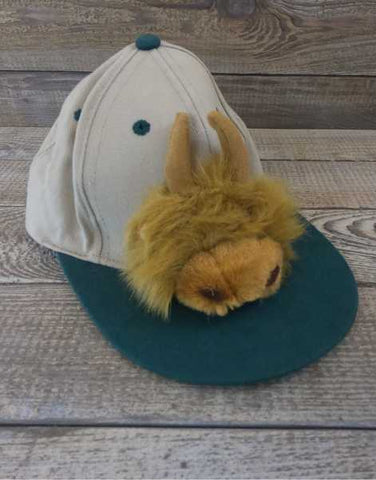 Children's Scotland Highland Cow Baseball Cap
