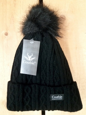 Ladies Couthie Pom Pom Hat