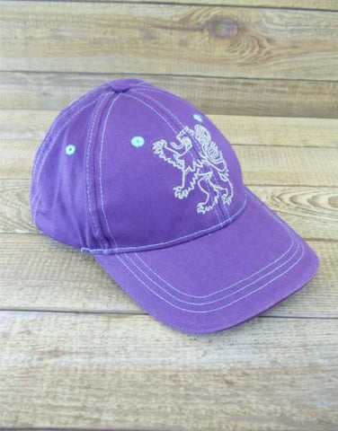Scotland Stitched Purple Rampant Lion Baseball Cap
