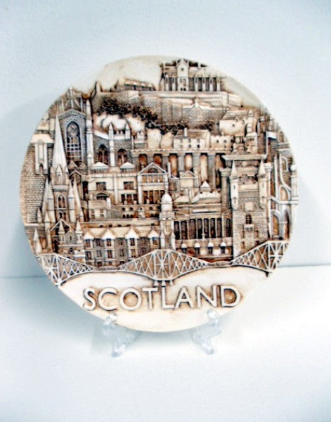 Landmarks of Scotland Resin Plate