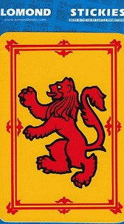 Rampant Lion Sticker