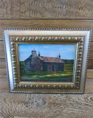 """Loch Callater Lodge"" Framed Print by Margaret Burns Miles"