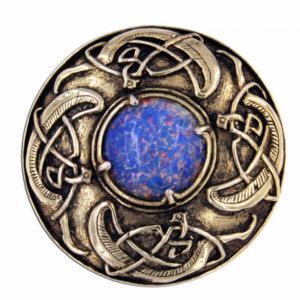 Viking Shield Brooch