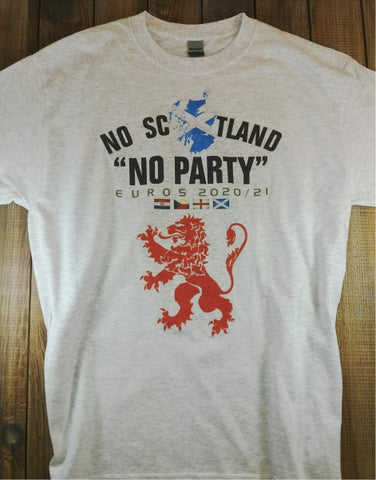 No Scotland No Party (GREY T Adult)