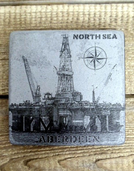 Photo Coaster - North Sea Oil Rig (C10)