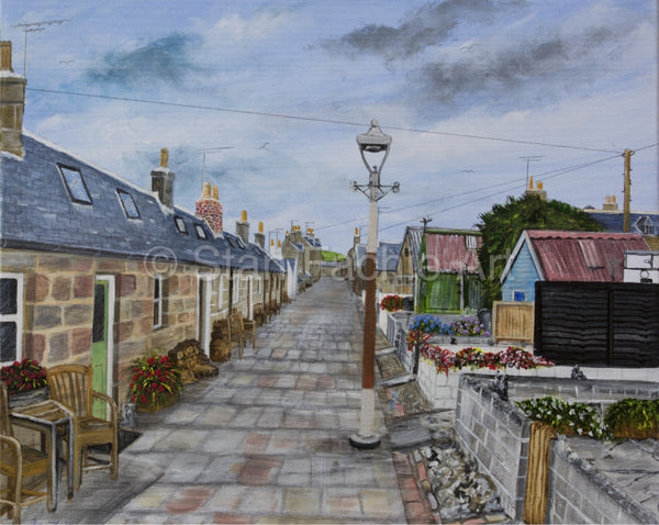 North Square Fittie Aberdeen looking south by Stan Fachie