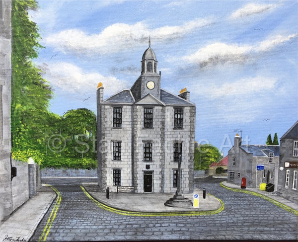 Old Town House Old Aberdeen by Stan Fachie
